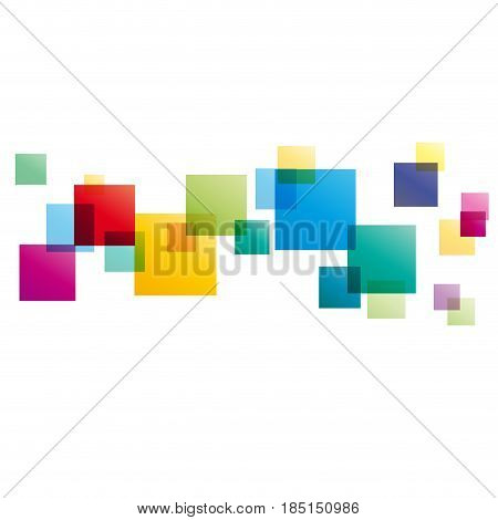 Vector concept of network white background, isolated illustration on white