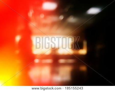 Light leak indoor room bokeh background hd