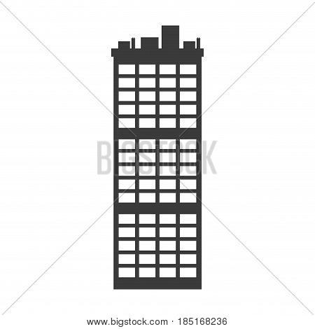 buiilding facade architecture apartment image vector illustration
