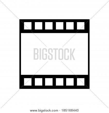 strip film frame cinema template image vector illustration