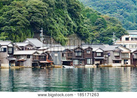 Seaside town of Ine cho