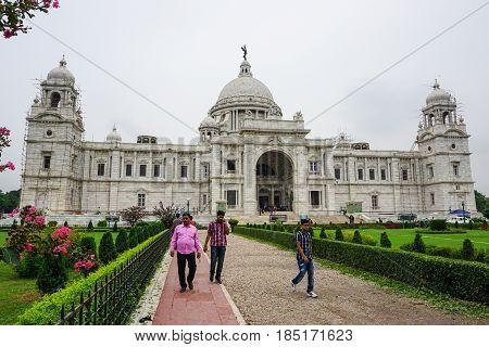 Old Buildings In Kolkata, India