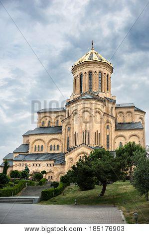 Cathedral Of Tsmindа Sameba