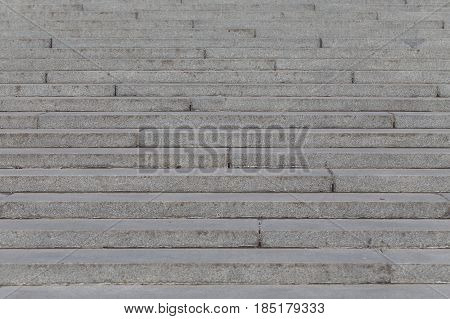 Concrete stone stairs stairways outside in all details