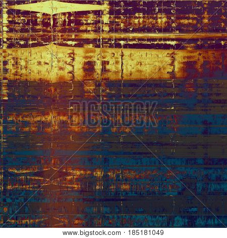 Hi res grunge texture or retro background. With different color patterns: yellow (beige); brown; blue; gray; red (orange); purple (violet)