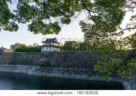 Osaka Castle Watch Tower