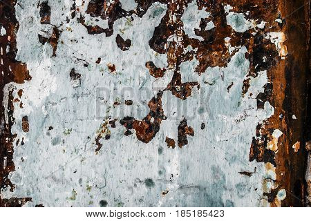 Metal, metal texture, iron metal, rusty metal, abstract metal background, grunge metal texture, painted metal, peeling paint, old metal