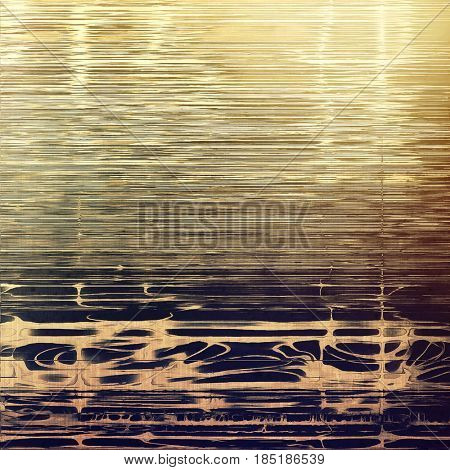 Tinted vintage texture, aged decorative grunge background with traditional antique elements and different color patterns: yellow (beige); brown; gray; purple (violet)