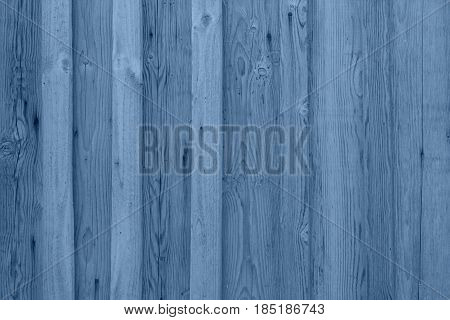 airy Blue wooden planks background, blue wooden wall texture.