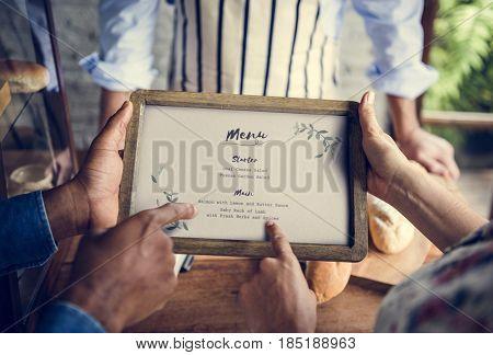 Restaurant Menu Culinary Service Bistro Banquet