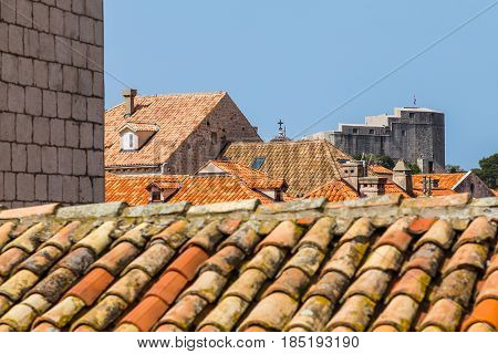 Colourful Rooftops Of Dubrovnik