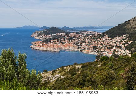 Culture history architecture & outstanding natural beauty come together in Dubrovnik at the foot of Mount Srd.
