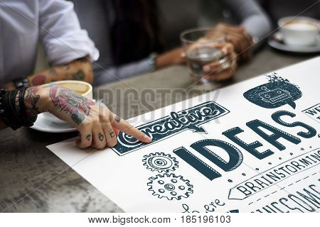 Ideas Creativity Ability Imagination Words