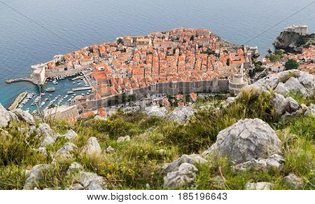 The (facing Dubrovnik) was once rich with pine forests but was almost completely gutted through fires during the Croatian War of Independence.