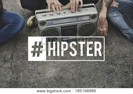 Hipster Lifestyle Youth Culture Casual Teens