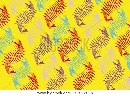 seahorse yellow.
