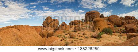 Beautiful rock formations at Damaraland Namibia Africa