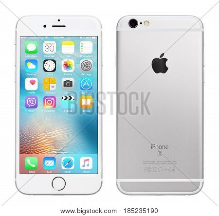 Silver Apple Iphone 6S