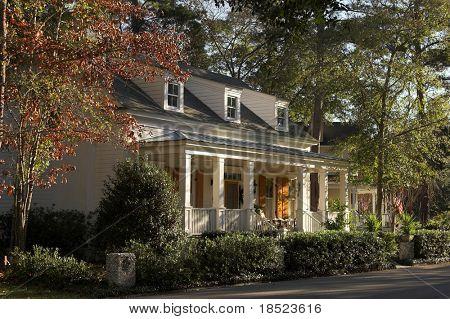 quaint cottage among the trees