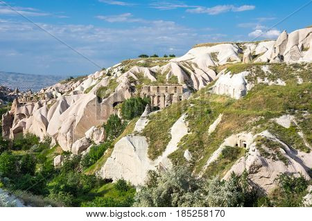 Pigeon valley in Cappadocia Central Anatolia Turkey