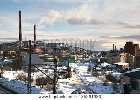 Murmansk Railway Station in Russia may be the northernmost railway station
