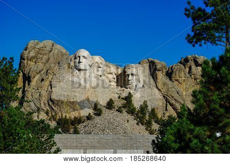 Mount Rushmore National Memorial and Park, South Dakota