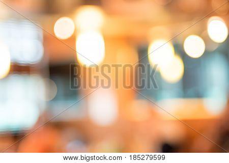 Vintage Filter, Bokeh Light Background ,warm Tone Filter