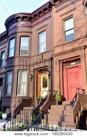 Brooklyn Brownstones - New York City