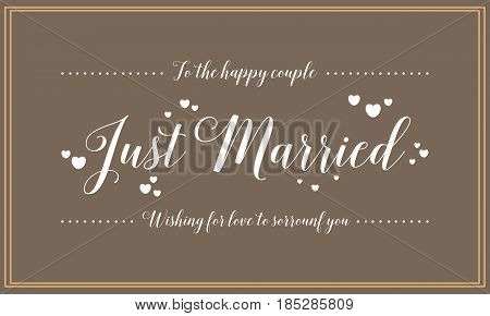 Vector wedding card design style collection stock