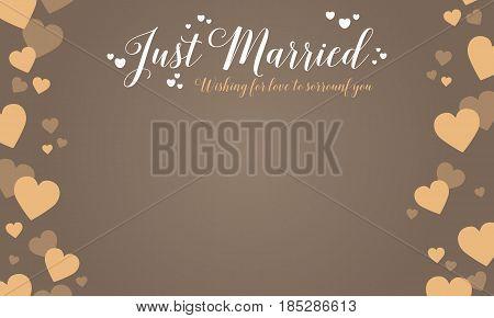Graphic wedding card design vector art collection stock