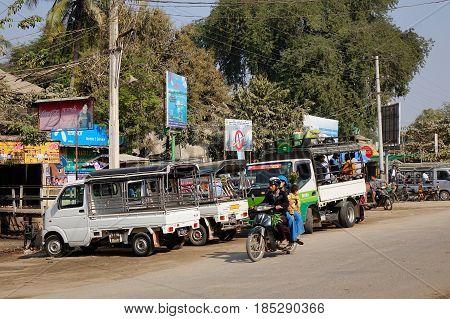Street In Bagan, Myanmar