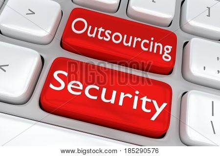 Outsourcing Security Concept