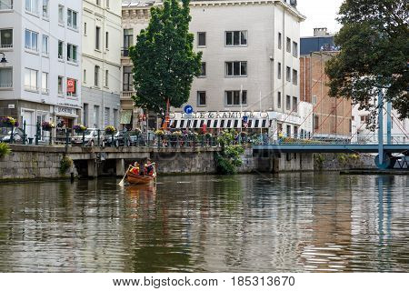 Boat Tours In Ghent Canal