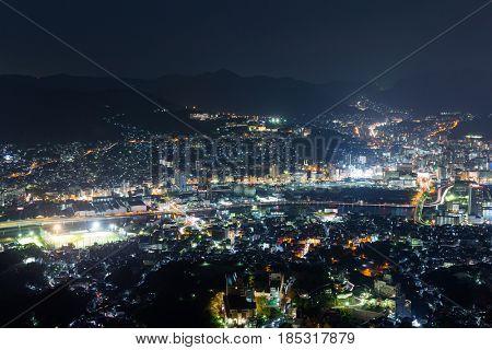 Nagasaki skyline
