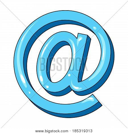 Email symbol.Mail and postman single icon in cartoon style vector symbol stock illustration .