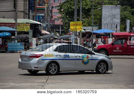 Police Car Of Tourist Police.toyota Corolla Altis.
