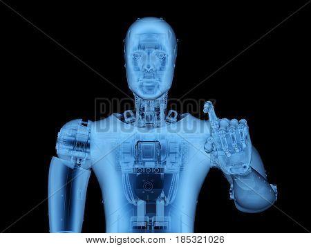 X-ray Robot Or Cyborg
