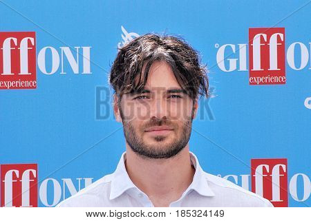 Giffoni Valle Piana Sa Italy - July 22 2016 : Giulio Berruti at Giffoni Film Festival 2016 - on July 22 2016 in Giffoni Valle Piana Italy