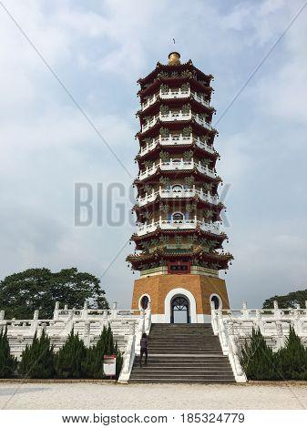 Ci En Pagoda Tower In Nantou, Taiwan