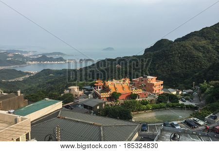 Jiufen Ancient Town In Northern Taiwan
