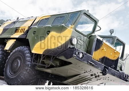 Tractor For Ballistic Missiles