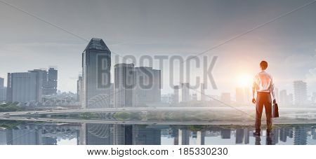 In rhythm of big city