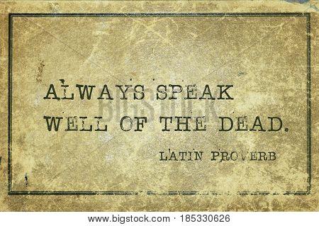 Speak Well Lp