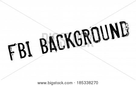 Fbi Background rubber stamp. Grunge design with dust scratches. Effects can be easily removed for a clean, crisp look. Color is easily changed.