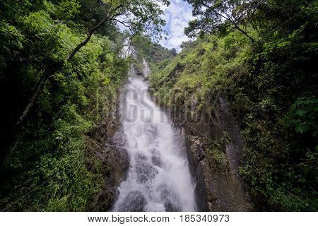 Simangande Waterfall Samosir Island Lake Toba North Sumatra Indonesia