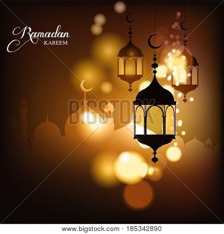 Ramadan Kareem, greeting background, Eid mubark and Aid said. beautiful islamic