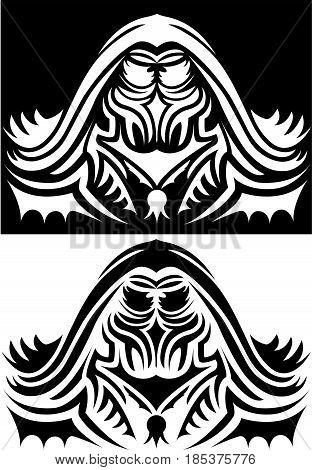 Ornamental Warlock for pc and board game design