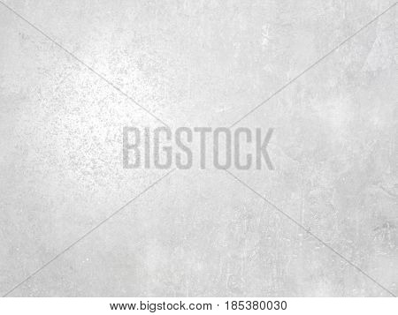 Polished concrete texture - abstract white gray background