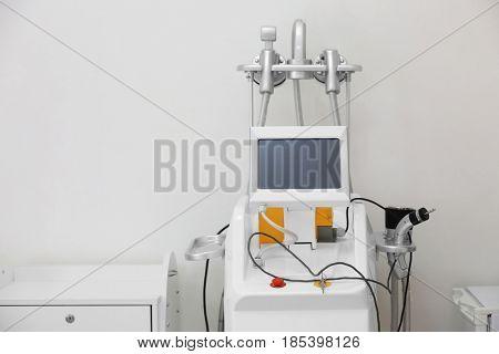 Modern equipment in dermatology clinic