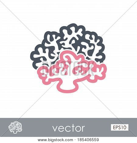 Coral outline vector icon. Beach. Summer. Summertime. Holiday. Vacation eps 10